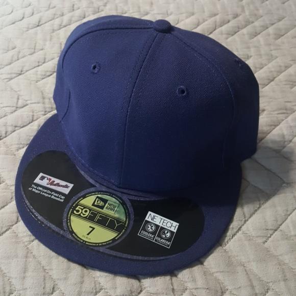 super popular 351be 0fcdf New Era 59FIFTY MLB on field hat, navy blue 7